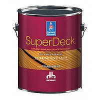 Super Deck Exterior Oil-Based TRANSPARENT Stain CANYON BROWN пропитка для дерева 3,54 л