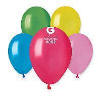 Воздушные шары металлик  ассорти 100 штук Италия  21 см