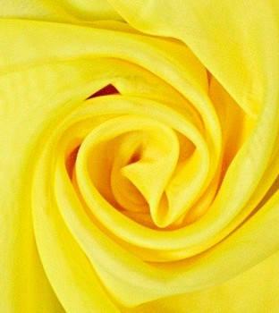 Шторный шифон Жолтый, вуаль, фото 2
