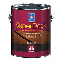 Super Deck Exterior WB Semi-Solid Color Stain экстерьерная пропитка для дерева 3,66 л