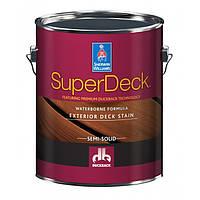 Super Deck Exterior WB Semi-Solid Color Stain екстер'єрна просочення для дерева 3,66 л