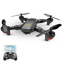 Квадрокоптер TIANQU Visuo XS809HW с WIFI 720p камерой Чёрный, КОД: 150411