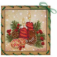 """Набір для вишивки на полімерній перфорованій основі Perfostitch """"Аромат Різдва"""", фото 1"""