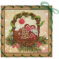 """Набір для вишивки на полімерній перфорованій основі Perfostitch """"Різдвяні солодощі"""", фото 1"""
