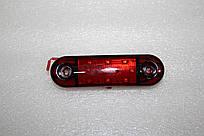 Габаритный фонарь 9-ти диодный красный 0174