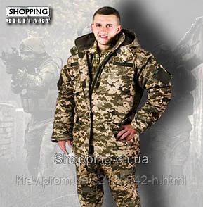Бушлат пиксель ЗСУ зимний нового образца ММ-14