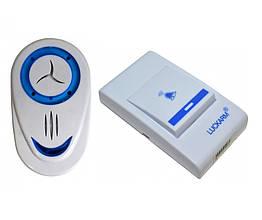 Беспроводной дверной звонок UKC Luckarm INTLIGENT 8853 Белый (sp_0909) КОД: 643635