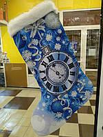 Пошитий новорічний чобіток для вишивання 23013 Biser art, фото 1