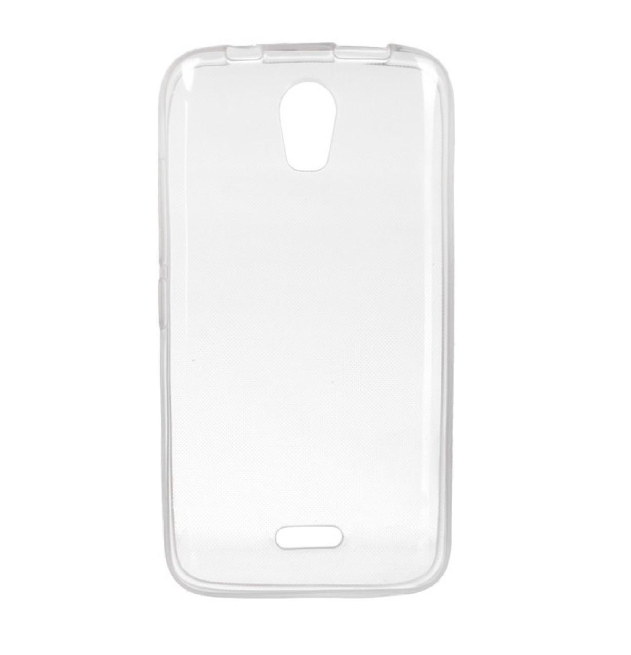 Силиконовый чехол DIGI TPU на Huawei Y3c Clean Grid Transparent