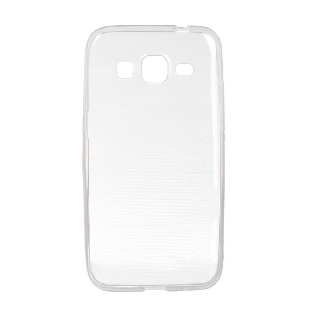 Силиконовый чехол DIGI TPU на Samsung Galaxy G360H/G361H Clean Grid Transparent