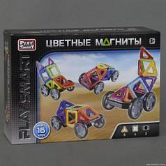 """Конструктор магнитный """"Цветные магниты"""" (16 деталей) 2426"""