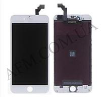 Дисплей (LCD) iPhone 6 Plus с сенсором белый оригинал
