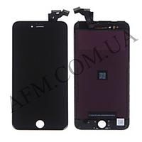 Дисплей (LCD) iPhone 6 Plus с сенсором чёрный оригинал