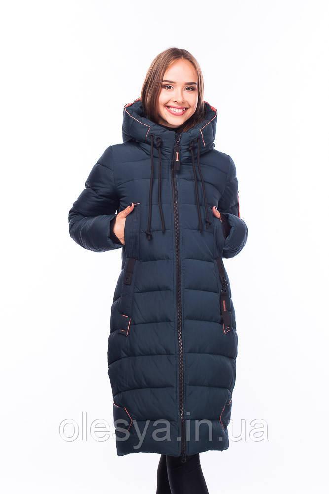 Пуховик зимний женский на тинсулейте больших размеров Кристина Размеры 46- 56