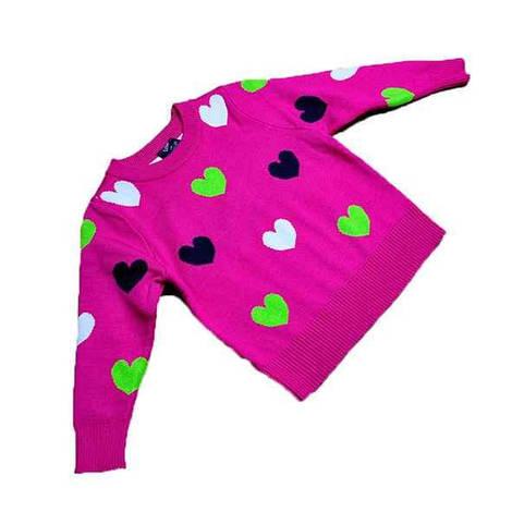 Кофта розового цвета для девочки
