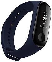 Ремешок Fitness для Xiaomi Mi Band 3 Midnight Blue 123957, КОД: 178533