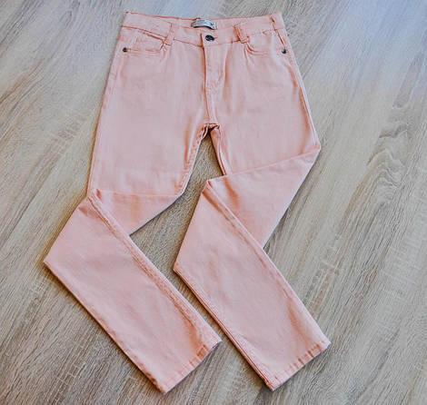 Брюки персикового цвета для девочки, MG and T JUNIOR