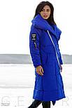 Яркое пальто-одеяло с контрастными нашивками, фото 2