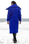 Яркое пальто-одеяло с контрастными нашивками, фото 3