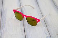 Детские солнцезащитные очки Clabmaster UV400 Красные, КОД: 185875