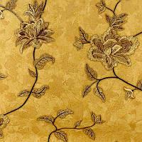 Обои Lanita на флизелиновой основе Люсия декор ТФШ 8-0253 горчич-золот 1,06х10м*6 шт - упаковка
