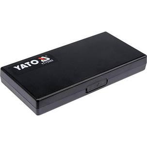 Мікрометр з точністю 0,01 мм в діапазоні 50 - 75 мм [20], YT-72302 YATO, фото 2
