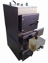 Пеллетный дровяно-угольный комби котел DM-STELLA 80 кВт с горелкой