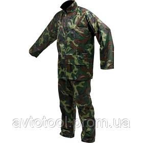 """Куртка і штани робочі, колір """"ХАКІ"""" розм. XXL, 70%- поліестер, 30% - ПВХ (74647 Vorel)"""