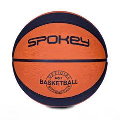 Баскетбольный мяч Spokey DUNK размер 7 Orange-Black s0219, КОД: 199264