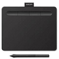 Графический планшет Wacom Intuos S Bluetooth Black (CTL-4100WLK-N) КОД: 663862