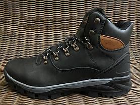 Натуральна шкіра зимові чоловічі черевики ARRIGO BELLO чорні 41р - 46р шкіряні, фото 3