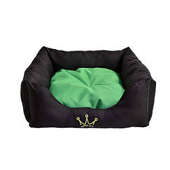 Лежак Noble Pet Henry 45 x 45 x 15 см Черно-салатовый H2114 45, КОД: 218797