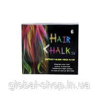 Мелки для волос 6 шт Hair Chalk, фото 2