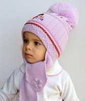 Даша, Дора, ПОЗДНЯЯ ОСЕНЬ шапка-шарф для девочек