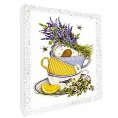 "Декупаж на холсте ""Чай для любимой"" 94707"