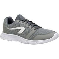 Кроссовки для бега р.45 мужские серые Kalenji Run One
