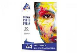 Глянцевая фотобумага INKSYSTEM для печати на Epson SC-P600 A4 230 г/м2 50 листов (13021) КОД: 316135