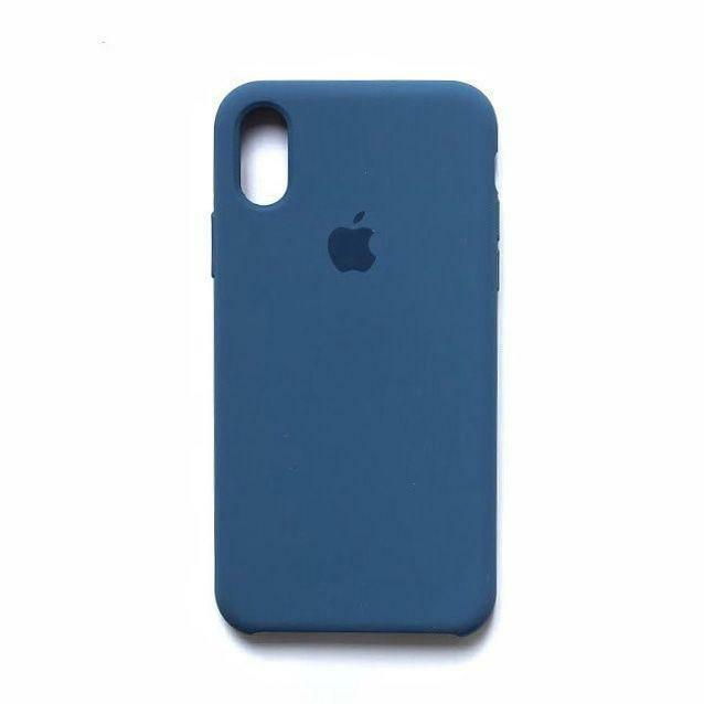 Силиконовый чехол Original Case Apple iPhone X / XS (45)