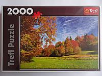 """Пазлы Trefl  """"Осенний пейзаж"""",2000 элементов,960*680мм,Польша.Пазлы Trefl для детей и взрослых.Пазли для дітей"""