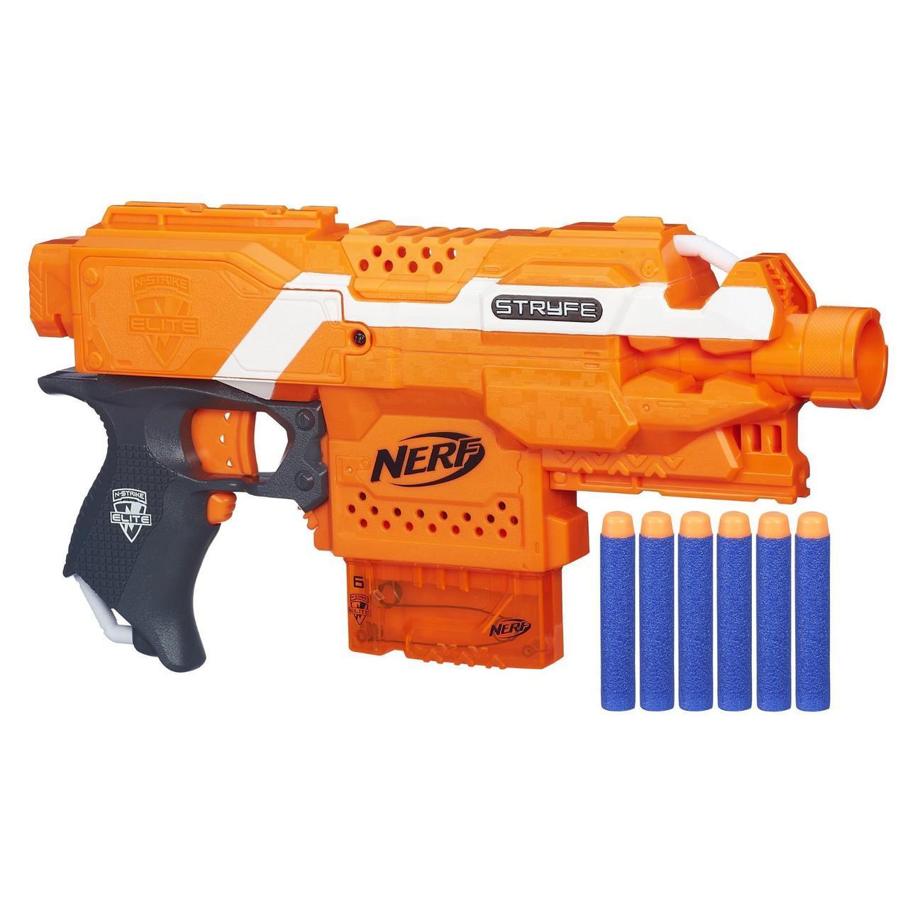 Бластер Нерф Бластер Элит Страйф Nerf N-Strike Elite Stryfe Blaster