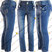 Весенние джинсы для девочек (от 3 до 8 лет) (z3-03)