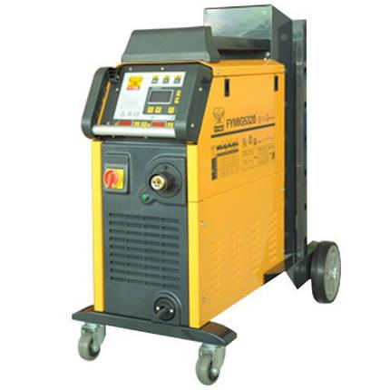 Сварочный полуавтомат инверторный 380В, 17А, сталь 0.6-1.2, алюм. 0.8-1.2, медь 0.6-1.6 G.I. KRAFT GI13115-380, фото 2