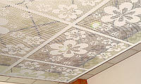 Потолочные панели декоративные перфорированные