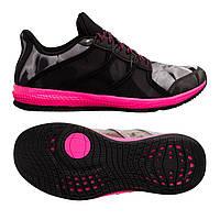 Кроссовки Adidas Gymbreaker Bounce 36.5 Черные с розовым (YXup27172)