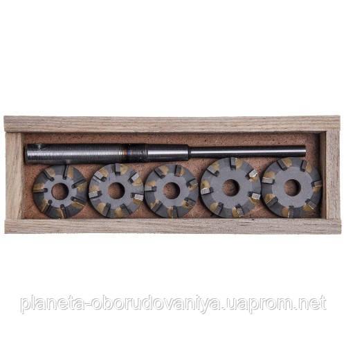 Набор зенкеров для сёдел клапанов ВАЗ 2108 (1100,1300)    (Днепропетровск)  ШАР08-7Р
