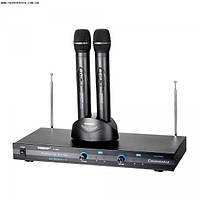 TS-6800 Takstar 2 ручных радиомикрофона+база с зарядкой