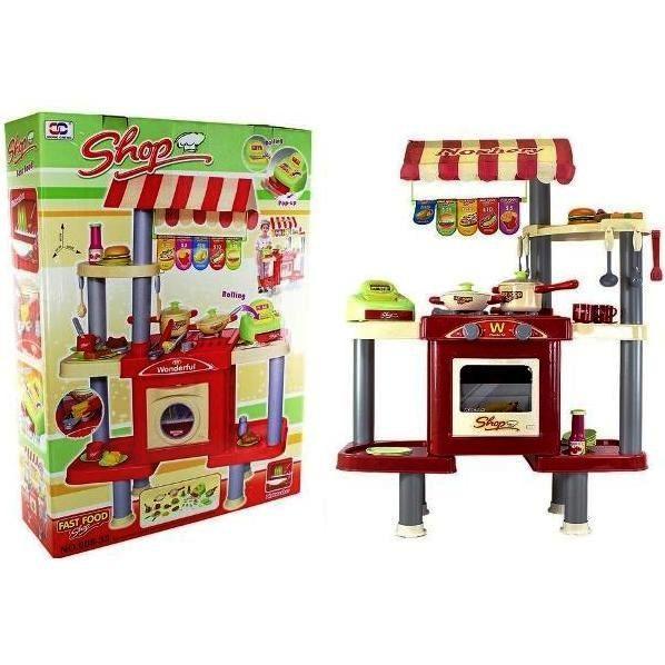 Детская игровая кухня Ресторан Фаст Фуд