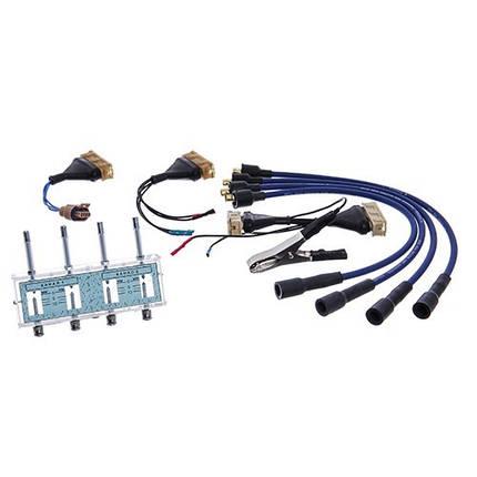 Разрядник с комплектом переходников для проверки модулей и катушек зажигания (шт.), фото 2