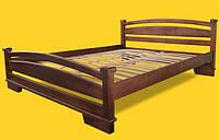 Кровать односпальная с натурального дерева в спальню/детскую ТИС АТЛАНТ 2 90*190 сосна