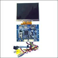 Видеорегистратор цветной 3.5' TFT-LCD разрешением 640 x 480 MP29035M